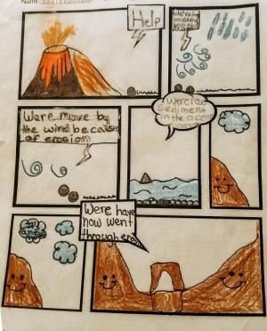 Weathering, Erosion and Deposition Comics