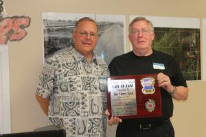 John Damon Hawk, Class of 1961, Schulter Hall of Fame