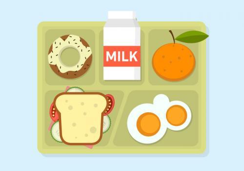 Breakfast plate clipart
