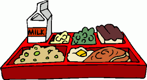 Lunch plate clipart
