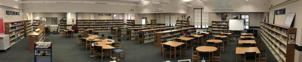 Panoramic Photo of Library