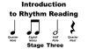 Image that corresponds to Rhythm Reading practice - stage three