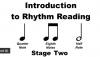 Image that corresponds to Rhythm Reading practice - stage two