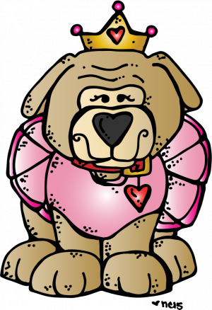 bulldog with tutu