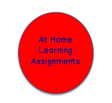 At Home Learning Assignments