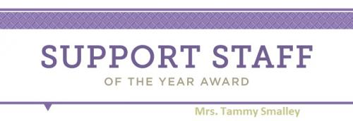 Support of the year