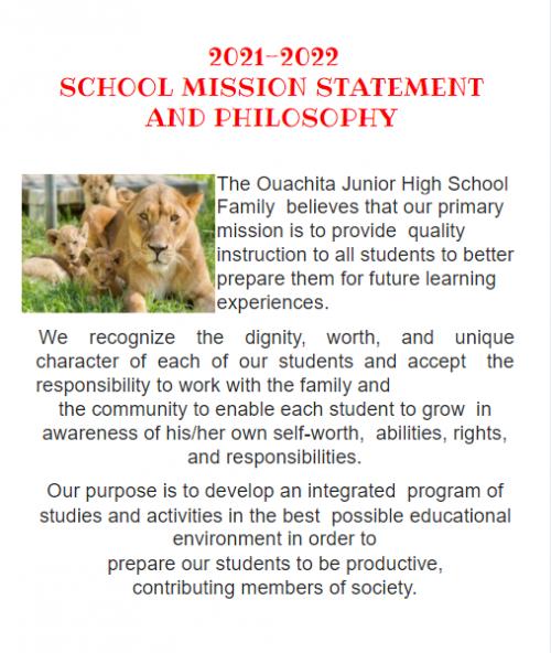 School Mission Statement
