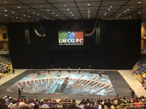 Varsity Winter Guard at Championships