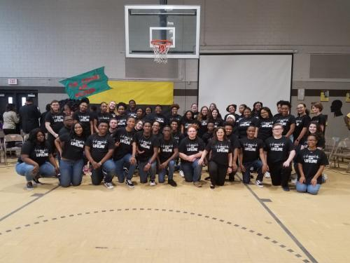 OPHS Choir Perform at Jack Hayes Elementary Black History Program