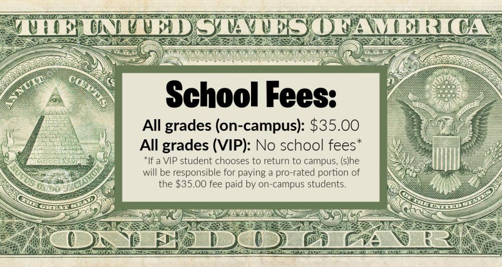 School Fees 2020-2021