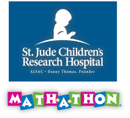 St. Jude Math-a-thon: Click here to set up your secure, personal fundraising page.