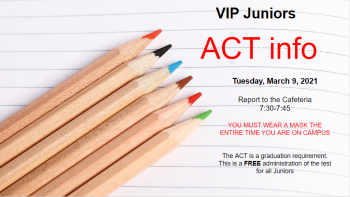 Junior Act- March 9th