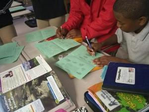 Students Using Reciprocal Teaching