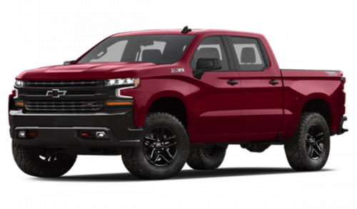 new red 4x4 pickup