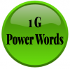 Image that corresponds to 1G Power Words