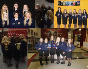 State Winning FFA Cerenony Team