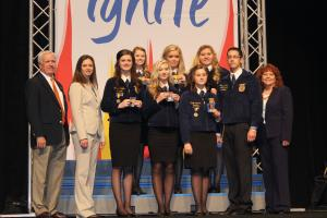 State Winning FFA Ceremony Team 2014
