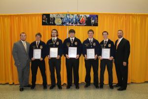2014 State FFA Degree Recipients