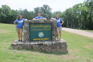 Seniors at the 2014 FFA Alumni Camp
