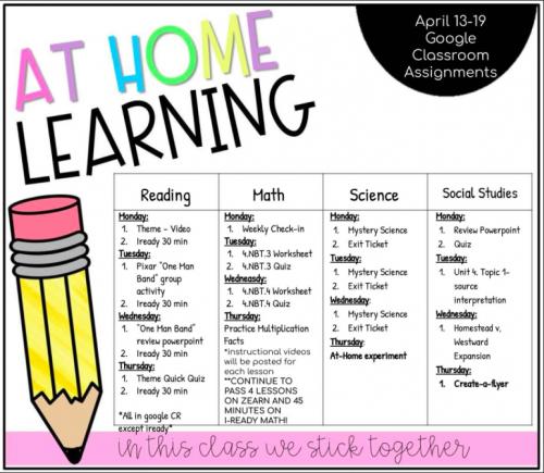 week 5 agenda