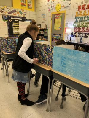 Teacher for a Day in 4th Grade