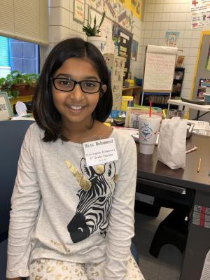 Teacher for a Day in 5th Grade