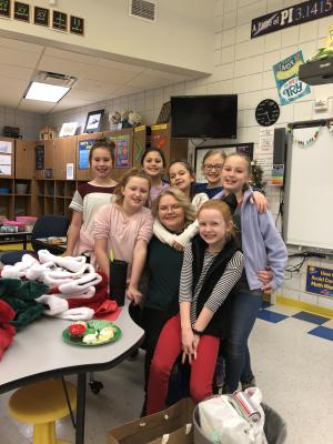 Christmas Party 4th Grade Girls
