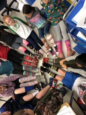 4th Grade Silly Socks