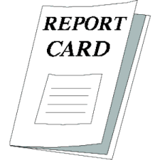REPORT CARD DAY