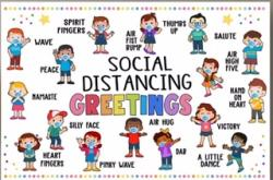 Social Distancing Greetings
