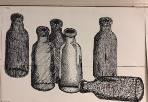 West Monroe High - ART I project examples