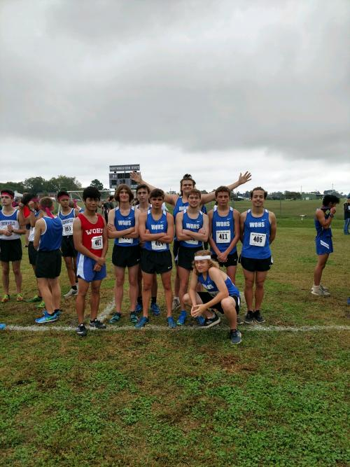 Boys Cross Country Group
