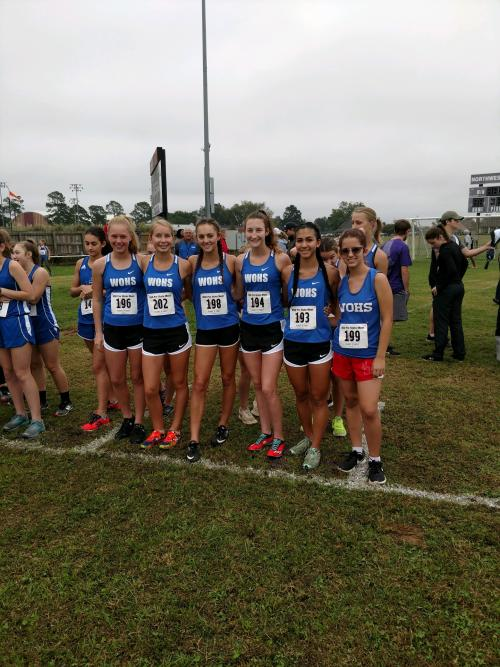 Girls Cross Country Group