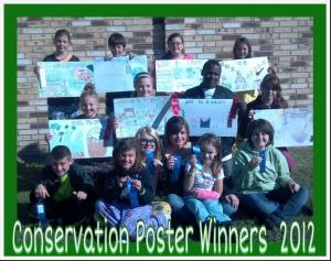 2012 Conservation Poster Winners