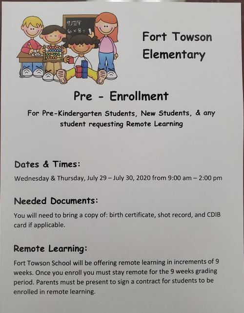 Elem enrollment