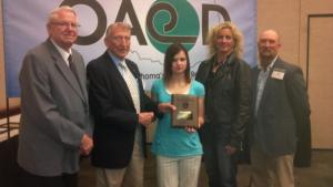 Conservation Poster Contest - Erica won 1st Place out of all 9th graders in the state!!!!