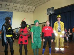 Batgirl, Ladybug, Cilantro, Ian Kinsler, & Firefighter