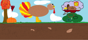 Paint Example:  Thanksgiving