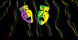 Paint Example:  Mardi Gras