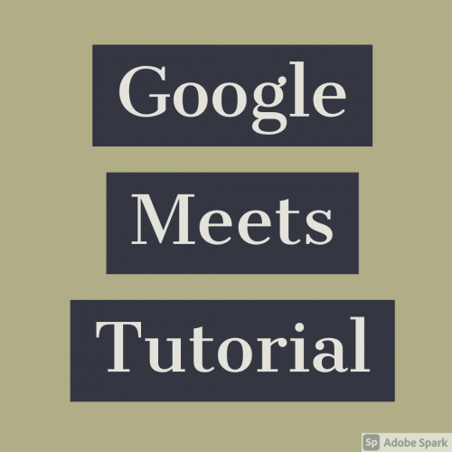 google meets tutorial