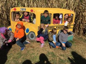 Field Trip Picking Pumpkins