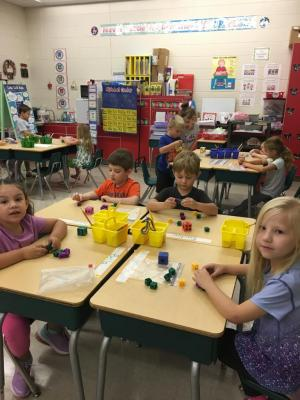Counting out Cubes Representing the Number