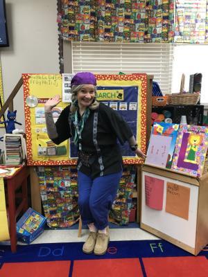 Pre-K Mrs. Saterfield:
