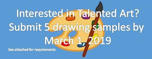 Talented Art Screening