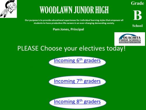 WJH Elective Selection for 2021-22
