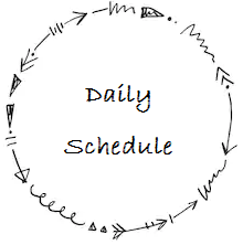 Link to daily schedule