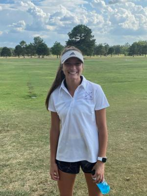 Congratulations Katie May on winning the girls district golf