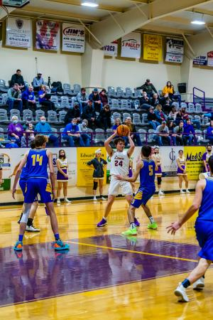 Feb 25 District Tournament versus Acorn