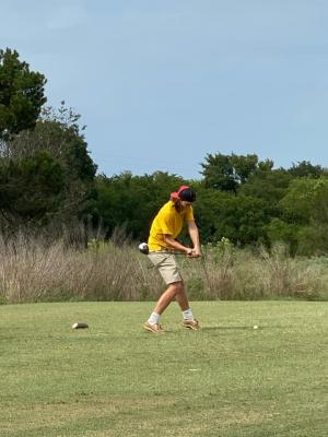 LHS Golf Team kicked off their season at Ben Geren.