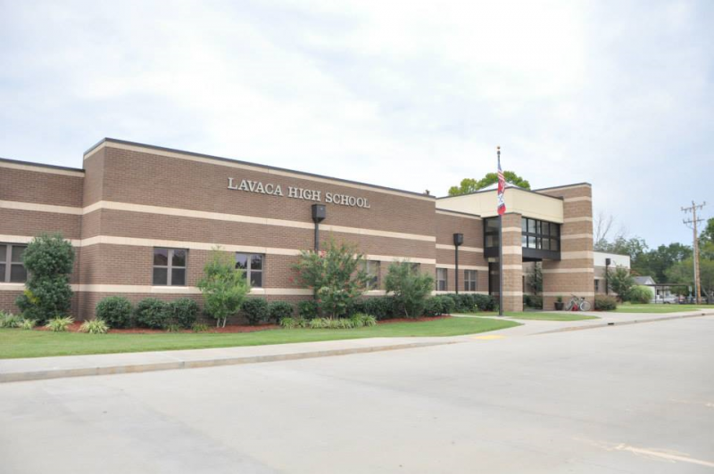 Landscape View facing Lavaca High School
